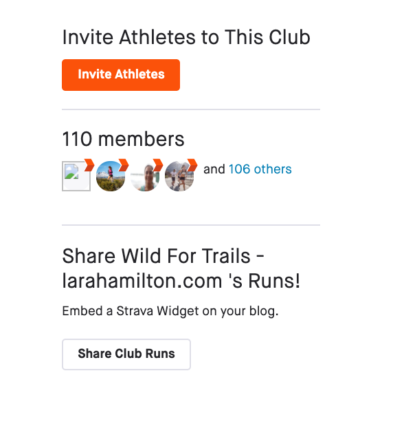 strava club wild for trails 4