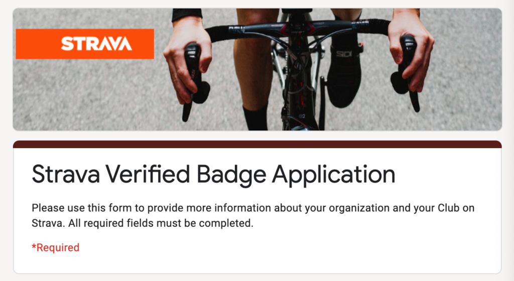 Strava Clubs Strava Verified Badge